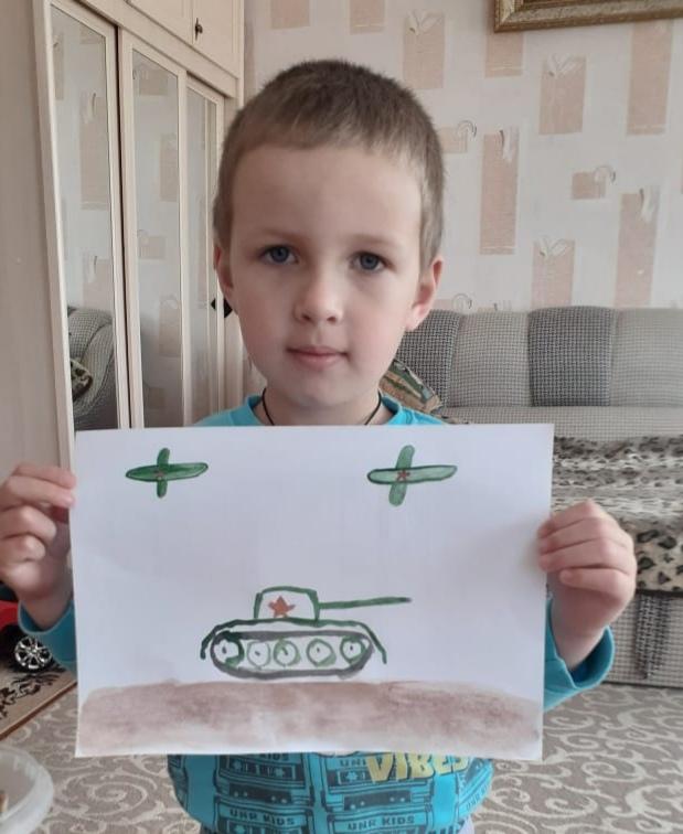 Воловик Паша А ср Победа рисунок